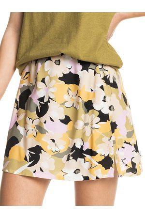 Quiksilver Dames Korte rokken - Split Mini Skirt bruin