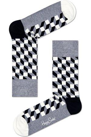 Happy Socks Heren Sokken - Sokken Socks Filled Optic