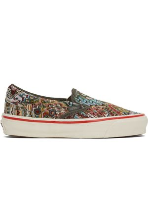 Vans Dames Instappers - Multicolor Nigel Cabourn Edition OG Classic Slip-On LX Sneakers