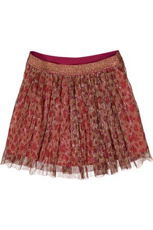 Garcia Meisjes Geprinte rokken - Rok met panterprint j14721 2776 red plum