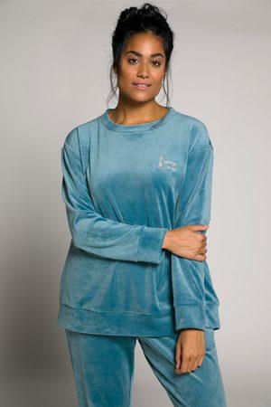 Ulla Popken Dames Homewear - Grote Maten Homewear Pullover, Dames, turquoise
