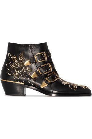 Chloé Dames Enkellaarzen - Susanna 30mm studded ankle boots