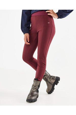 Mexx Meisjes Leggings - Basic legging Bordeaux Red