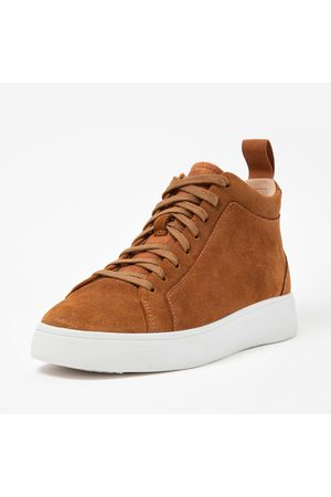 FitFlop Rally high top sneaker suede winterised