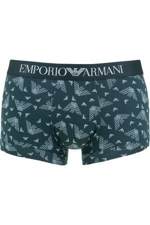 Emporio Armani Heren Boxershorts - Boxershort all over logo trunk