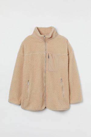 H&M Dames Korte jassen - + Teddy vest