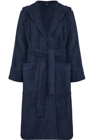 Tekla Heren Sokken - Hooded organic cotton dressing gown