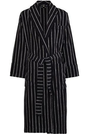 Tekla Heren Sokken - Striped organic cotton dressing gown