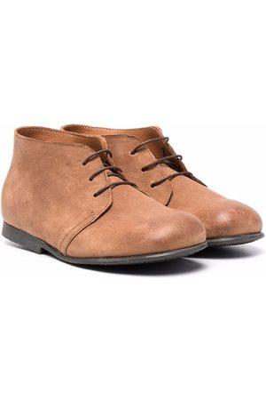 PèPè Lace-up desert boots