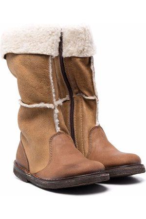 PèPè Shearling-lined snow boots
