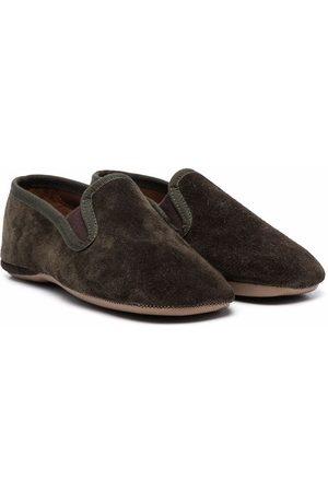 PèPè Suede slip-on shoes