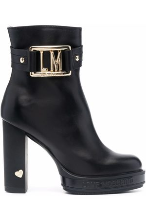 Love Moschino Logo ankle boots