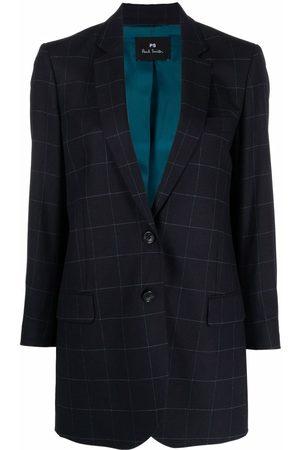 Paul Smith Tailored check print blazer