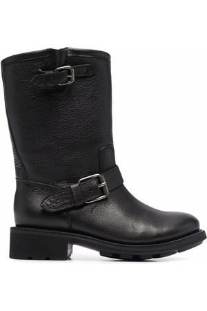 Ash Double buckle boots