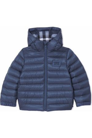 Burberry Padded hooded puffer jacket