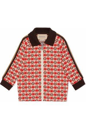 Gucci G jacquard check jacket