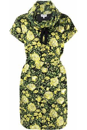 Kenzo Botanical Rose tunic dress