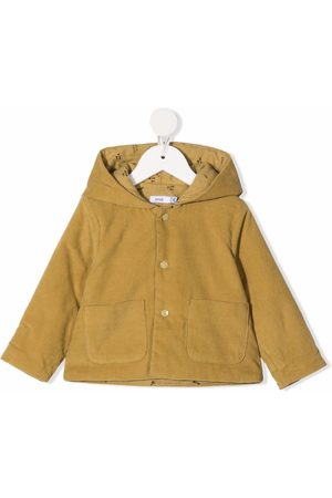 KNOT Hooded button-up coat
