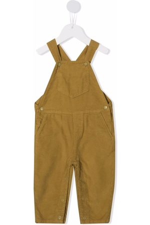 KNOT Corduroy-detail overalls