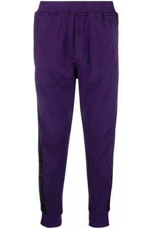 Dsquared2 Tapered cotton track pants