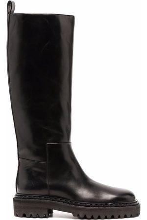 Officine creative Knee-high flat boots