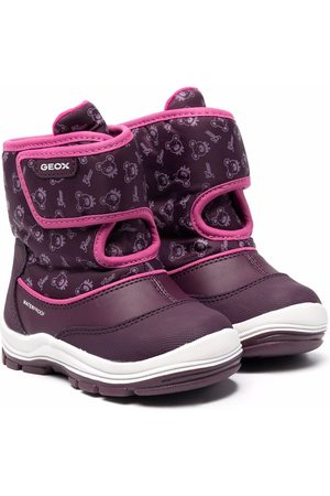 Geox Monogram touch-strap snow boots
