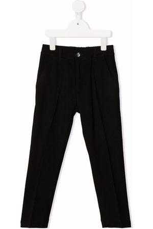 Paolo Pecora Pleat-detail four-pocket trousers