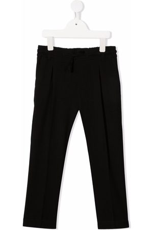 Paolo Pecora Pleat-detail elasticated-waist trousers