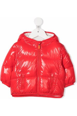 save the duck Glossy puffer coat