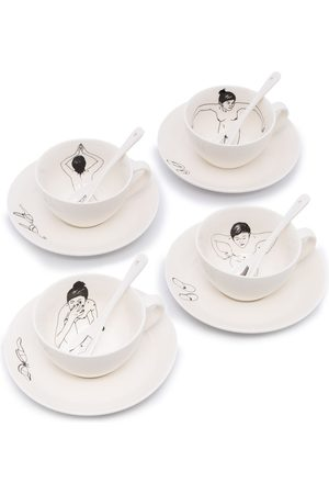 Pols Potten Undressed ceramic tea set