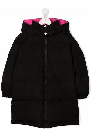 Emilio Pucci Logo-print padded down coat