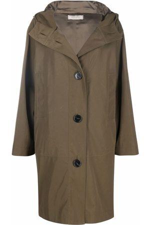 Nina Ricci Buttoned-up hooded coat