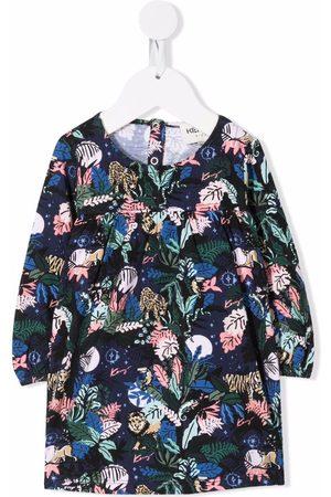 Kenzo Botanical-print cotton dress