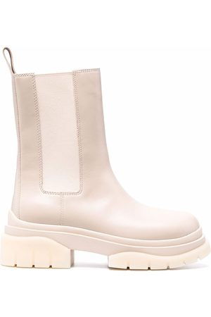 Ash Storm leather boots