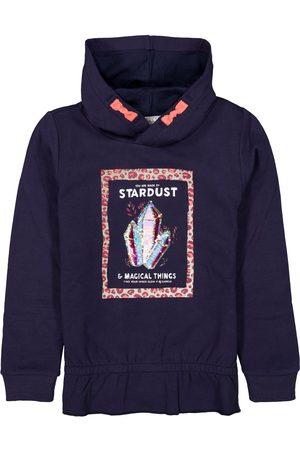 Garcia Meisjes Hoodies - Donkerblauwe hoodie j14662 2878 bluebell