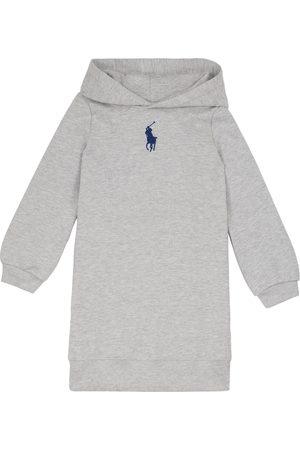 Ralph Lauren Baby Hoodies - Cotton-blend hoodie dress