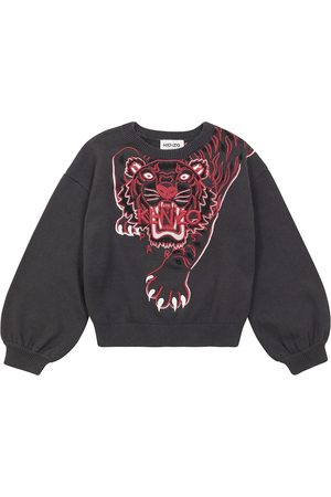 Kenzo Meisjes Sweaters - Cotton and cashmere sweater