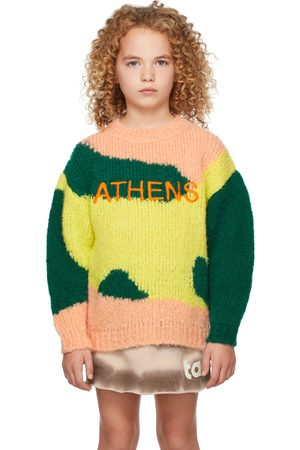The Animal Observatory Sweaters - Kids Multicolor Athens City Bull Sweater