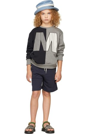 Marni Sweaters - Kids Bicolor Big 'M' Sweatshirt