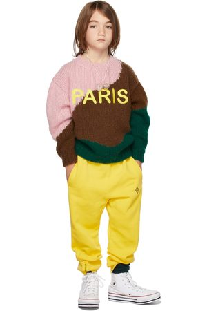 The Animal Observatory Sweaters - Kids Multicolor Paris Bull Sweater