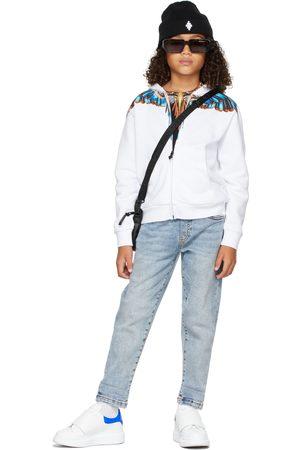 MARCELO BURLON Kids Grizzly Wings Zip-Up Hoodie