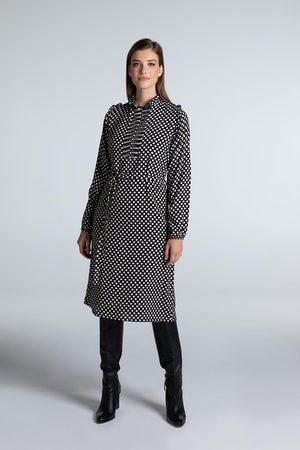 Juffrouw Jansen Dames Jurken - Aukje w21 wwd528 dress ruffle