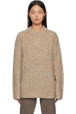 By Malene Birger Beige Cirla Roll Sweater