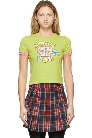 Marc Jacobs Heaven Green Missing You Baby T-Shirt