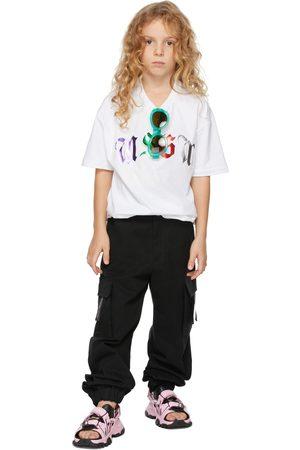 Msgm Cargo's - Kids Black Cargo Pants