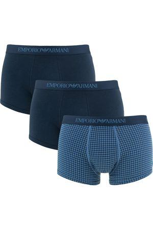 Emporio Armani Heren Boxershorts - Boxershorts stretch print trunk 3-pack