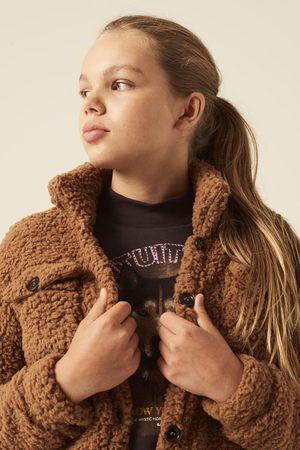 Garcia Meisjes Donsjassen - Teddy jack j12652 2081 brown glow