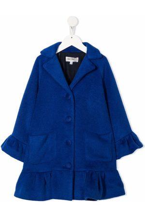 Simonetta Single-breasted peplum coat