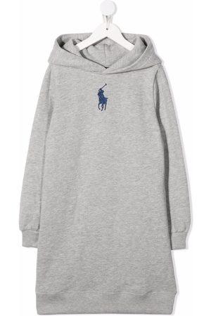 Ralph Lauren Logo-embroidered hoodie dress