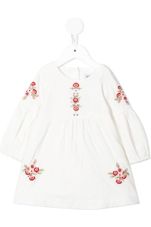 Tartine Et Chocolat Embroidered long-sleeve dress